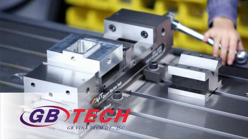 Các cách gá phôi trên máy phay CNC